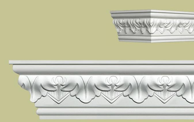 how to make fancy crown molding