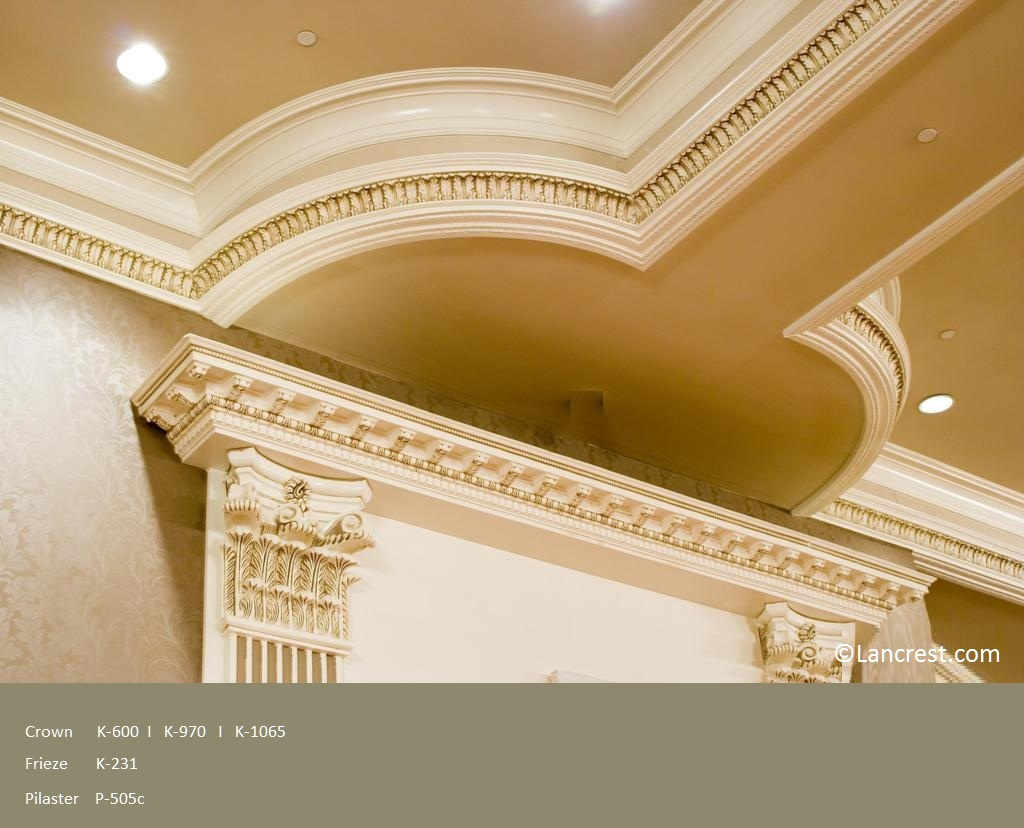 chair rail friezes - Ceiling Molding Design Ideas