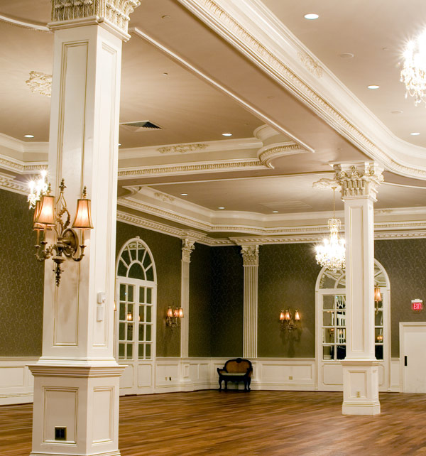 shown - Ceiling Molding Design Ideas