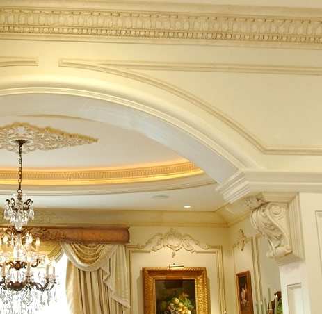 Crown Molding Designs and Ideas, Panel Molding Ideas - Lancrest ...